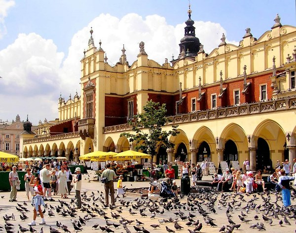 krakow places